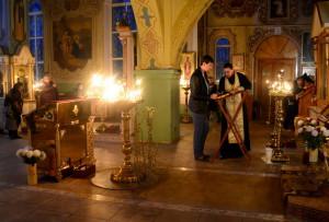Исповедь в Покровском храме
