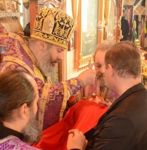 Епископ Калачевский и Палласовский Иоанн. Причастие