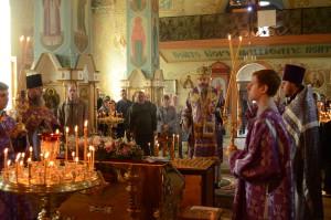 Епископ Калачевский и Палласовский Иоанн. Панихида