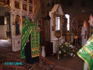 Молебен Сергию Радонежскому