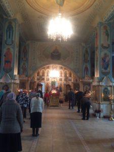 Воздвижение Креста Господня Средняя Ахтуба 2016