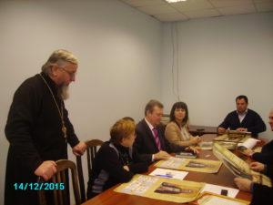 протоиерей Иоанн Симора в администрации