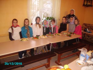 Мастер-класс по кулинарному искусству в Покровском храме