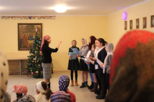 Поздравление воскресной школы Покров с Рождеством Христовым